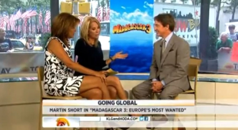 <p>Kathy Lee Gifford slipped up big-time during an interview with actor Matin Short.</p>