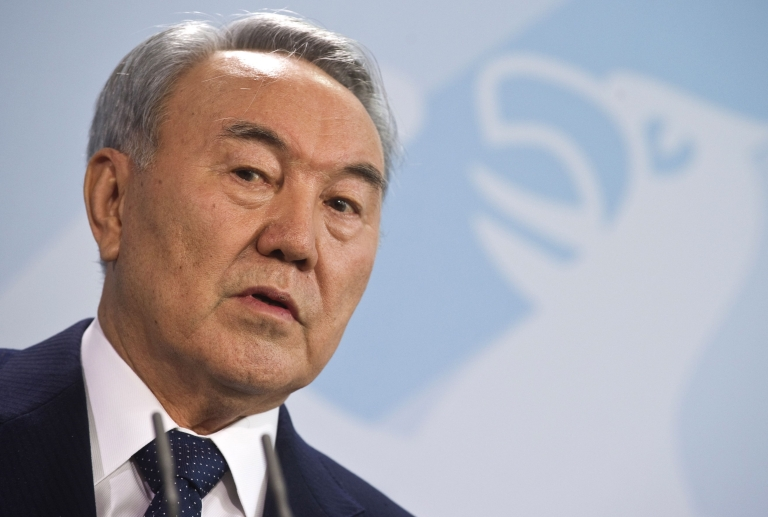 <p>Mukhtar Ablyazov denies the embezzlement accusations leveled against him, contending they are politically motivated and an attempt by Kazakhstan's long-term President Nursultan Nazarbayev (pictured) to sideline him as a political opponent.</p>