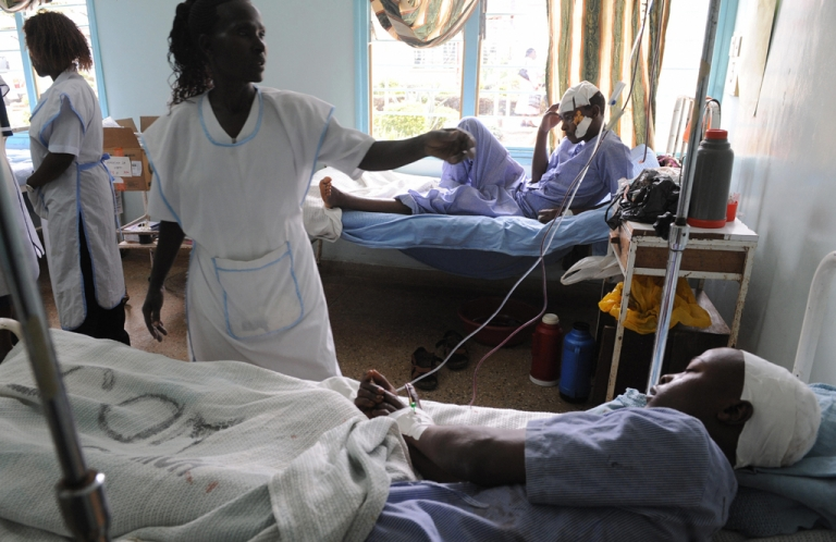 <p>Kenya's public health care workers were fired en masse by the country's government after they refused to end their strike to return to work.</p>