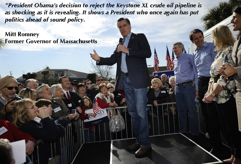 <p>Republican presidential hopeful Mitt Romney addresses supporters while visiting his campaign headquarters in Charleston, South Carolina, January 19, 2012. South Carolina will hold its Republican primary on January 21, 2012.  </p> <p>Quote taken from Mittromney.com</p>