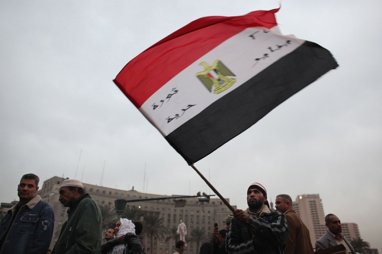 "<p>Mahmoud Hussein, the Muslim Brotherhood's secretary general, said the group had decided to nominate a candidate following ""attempts to abort the revolution"" and because of the ""real threat to the revolution and to the democratic process.""</p>"