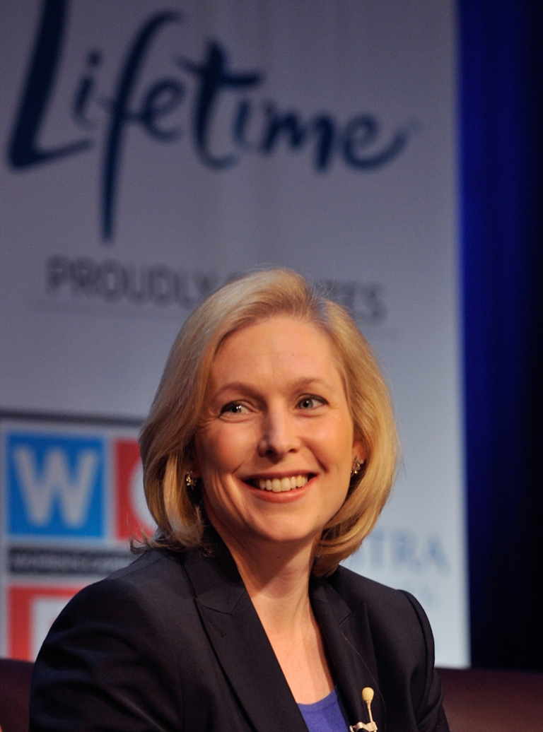 <p>Senator Kirsten Gillibrand said Wednesday that she will be urging Hilary Clinton to run for president in 2016.</p>