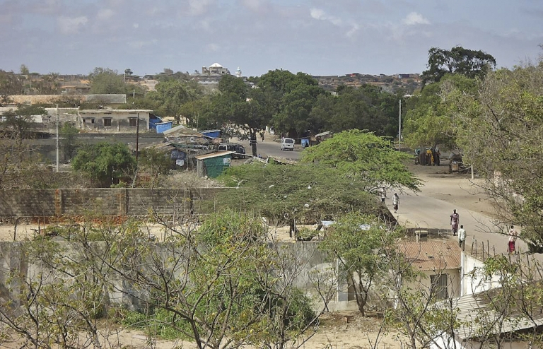 <p>Kismayo, Somalia is pictured on September 28, 2012. Kismayo was the last major bastion of the Shebab, who have lost most of their other strongholds to the 17,000-strong African Union force, of which Kenya is a part, as well as allied Ethiopian forces. The KDF have been aiming to take Kismayo ever since they rolled troops and tanks across the border to fight the Islamist extremists almost a year ago.</p>