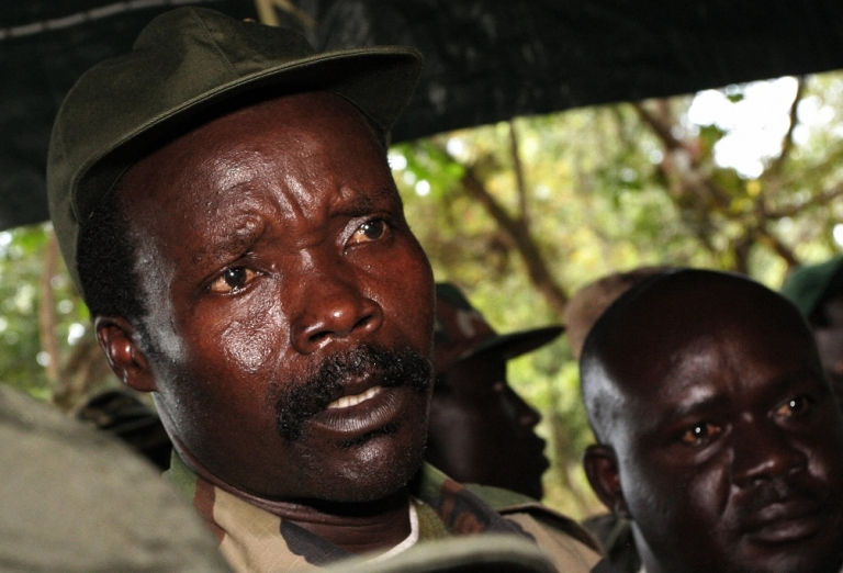 <p>Joseph Kony, answering journalists' questions in Ri-Kwamba, southern Sudan, following a meeting with UN humanitarian chief Jan Egeland. The UN Security Council on January 16, 2009 strongly condemned recent attacks by Ugandan rebels of the Lord's Resistance Army in neighboring Democratic Republic of Congo and South Sudan and urged them to disarm. The 15-member body noted that these attacks 'have resulted in over 500 dead and over 400 abducted, as well as the displacement of over 104,000 people.</p>