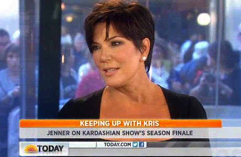 <p>Kris Jenner was discussing her breast implants on the 'Today' show as the country observed a moment of silence for 9/11.</p>
