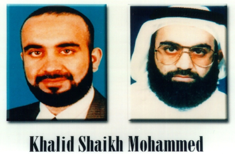 <p>Khalid Shaikh Mohammed (KSM), arrested at a house in Rawalpindi, Pakistan in 2003, is the Al Qaeda mastermind behind many terrorist attacks, including 9/11.</p>