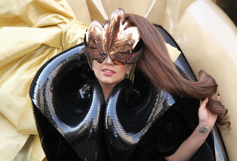 <p>Lady GaGa attends Lady GaGa 'Fame' Perfume Launch on September 14, 2012 in New York, United States. The pop star has inspired the name of a genus of fern discovered by Duke scientists.</p>