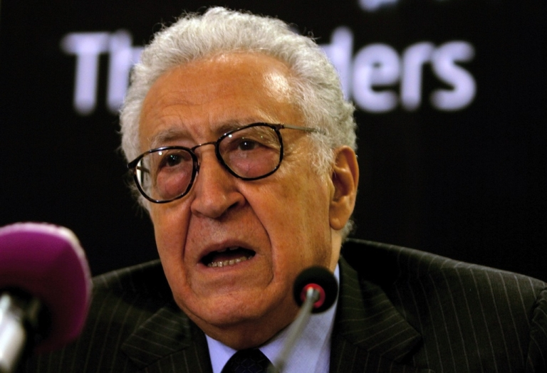 <p>The UN's special envoy to Syria, Lakhdar Brahimi, attended talks in Moscow this week.</p>