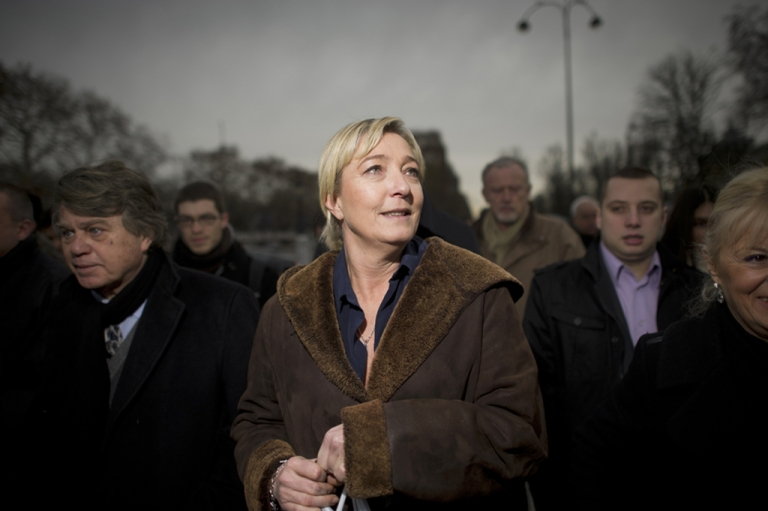 <p>Marine Le Pen, leader of France's far-right National Front, has secured the backing of 500 elected officials -- allowing her to run for president in next month's elections.</p>