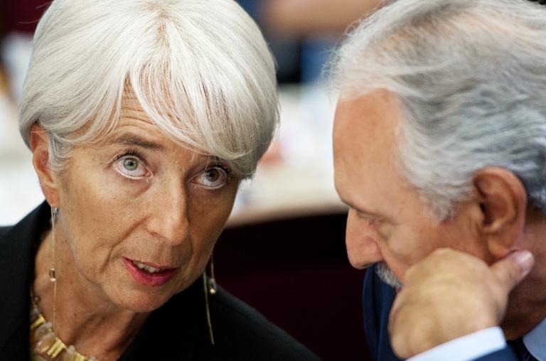 <p>IMF Managing Director Christine Lagarde on December 6, 2011.</p>