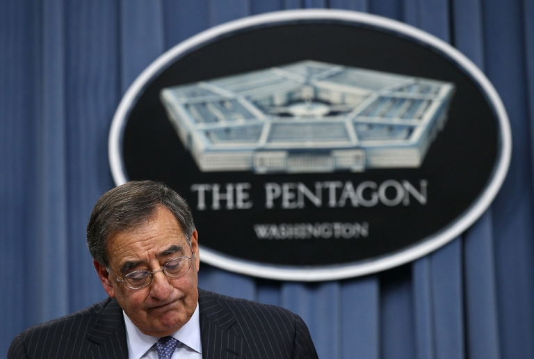 <p>US Defense Secretary Leon Panetta announced Wednesday that US forces would leave their combat role in Afghanistan as early as 2013. He is headed to a NATO meeting in Brussels, where Afghanistan is expected to be a central topic of discussion.</p>