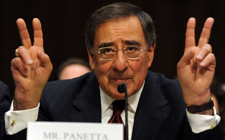 <p>Leon Panetta, Director of the Central Intelligence Agency testifies before the Senate Select Committee on Intelligence on Feburary 16, 2011 on Capitol Hill in Washington, DC.</p>