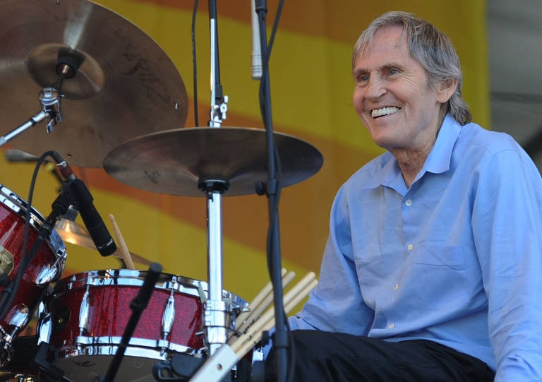 <p>Singer/songwriter Levon Helm performs at the 2010 New Orleans Jazz &amp; Heritage Festival at the Fair Grounds Race Course on April 25, 2010 in New Orleans, Louisiana.</p>