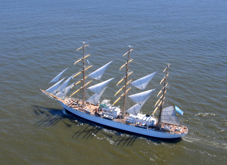 <p>The Argentinian sailing ship ARA Libertad was seized by an American hedge fund as compensation for a bond the government failed to pay in 2001.</p>