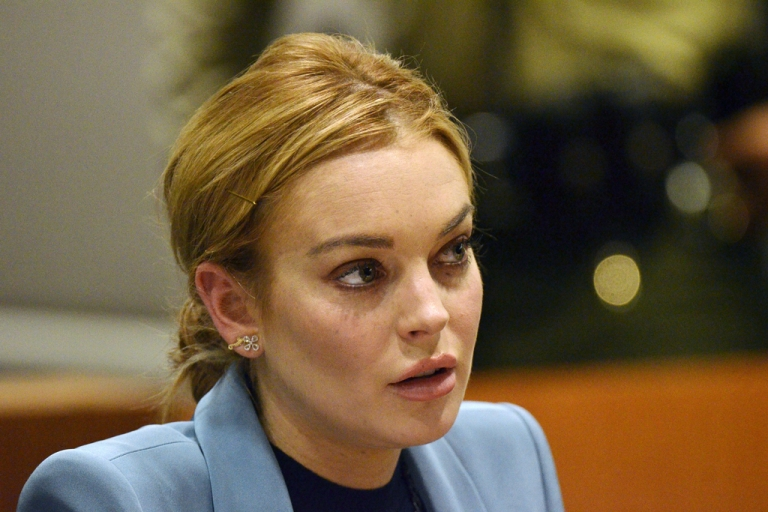 <p>Lindsay Lohan attends her probation hearing at the Airport Courthouse on March 29, 2012 in Los Angeles, California. Lohan was involved in a car crash on June 8, 2012 that led to her being rushed to the hospital, though reports say she was not seriously injured.</p>