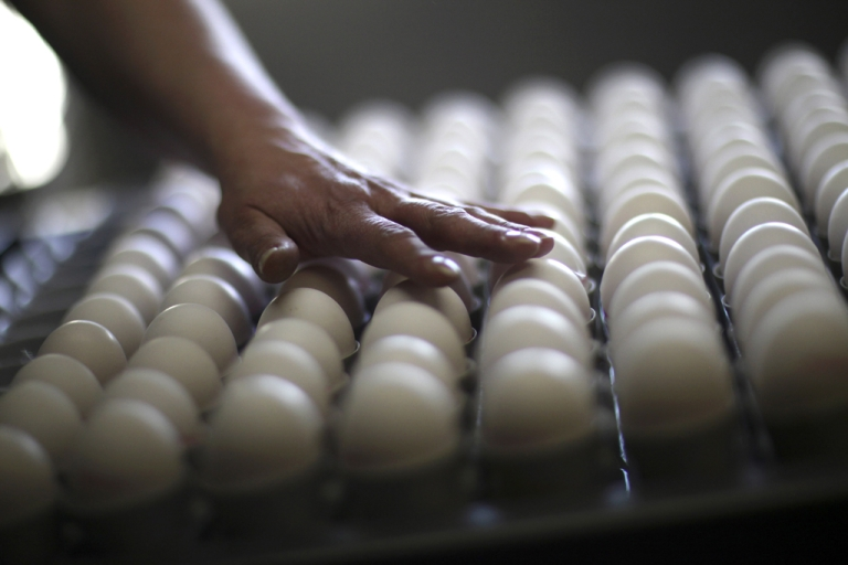 <p>Over 1 million eggs have been recalled in 34 states after lab testing revealed they could be contaminated with listeria.</p>
