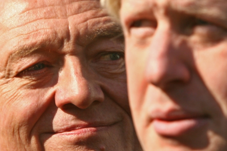 <p>Mayoral candidates Ken Livingstone (left) and Boris Johnson.</p>