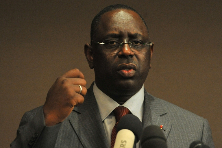 <p>Macky Sall was sworn in as Senegal's new president on April 2, 2012, replacing Abdoulaye Wade.</p>