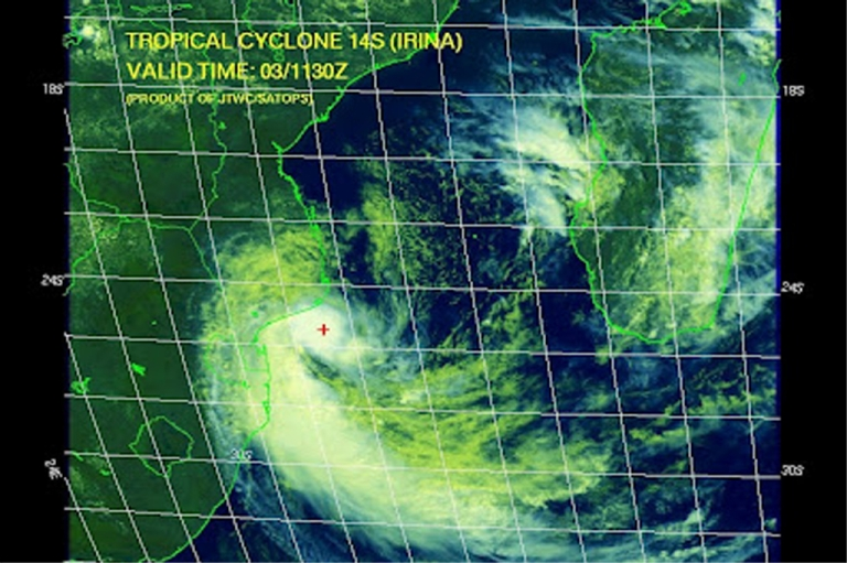 <p>Image by the South Africa Weather and Disaster Observation Service, posted on the World Weather Post website.</p>