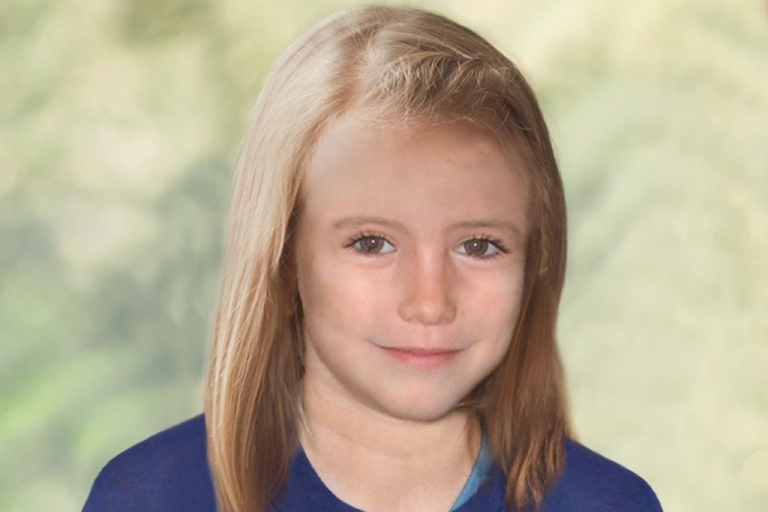 <p>British police issued this age-enhanced photo of what Madeleine McCann might look like at age nine.</p>