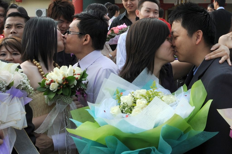 <p>Only married couples or non-Muslims are allowed to get intimate on Feb. 14 in Malaysia.</p>