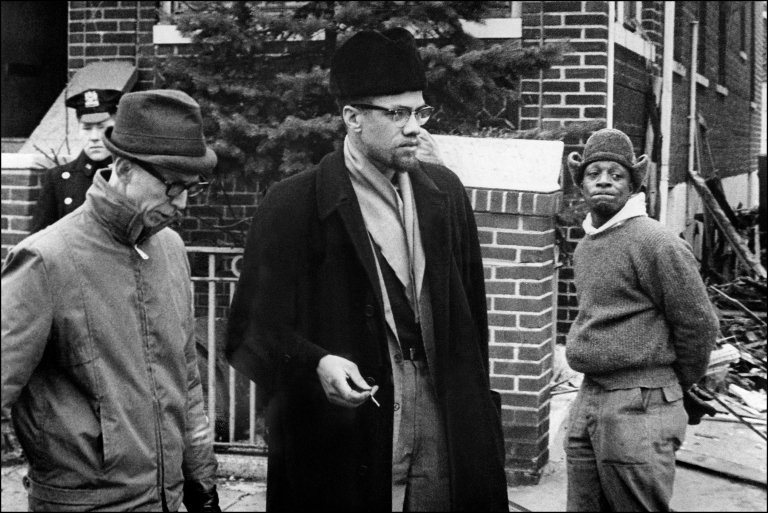 <p>Malcolm X, born Malcolm Little and later also known as El-Hajj Malik El-Shabazz, the leader of the Organization of Afro-American Unity, appears in this undated photograph.</p>