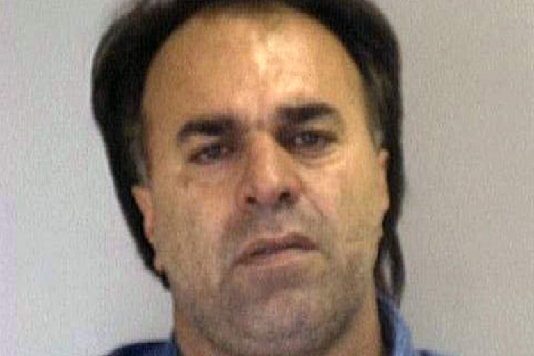 <p>In this handout photo provided by the Nueces County Sheriff's Department, Manssor Arbab Arbabsiar is seen in this 2001 mug shot. Arbabsiar, along with Gholam Shakuri, was charged October 11, 2011 with plotting to killing the Saudi Arabian Ambassador to the U.S. and to bomb the Israeli and Saudi Arabian embassies in Washington DC. The U.S. alleges that Arbabsiar, a naturalized U.S. citizen originally from Iran, is linked to the Quds Force, a faction of Iran's Revolutionary Guards.</p>