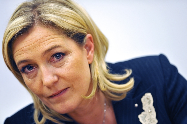 <p>Marine Le Pen, head of France's anti-immigrant National Front party, is poised to play the spoiler.</p>