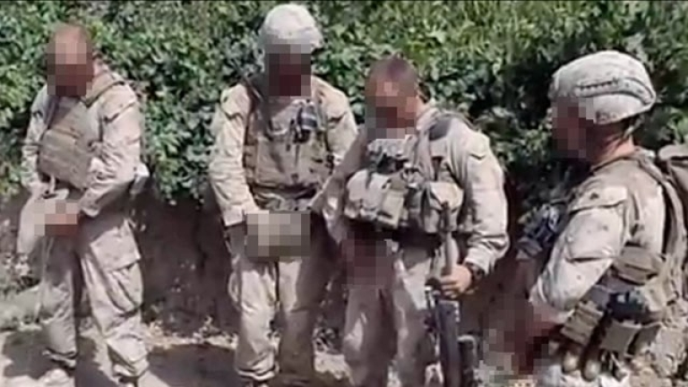 <p>The United States Military is investigating a video that allegedly shows US Marines urinating on dead Taliban fighters.</p>