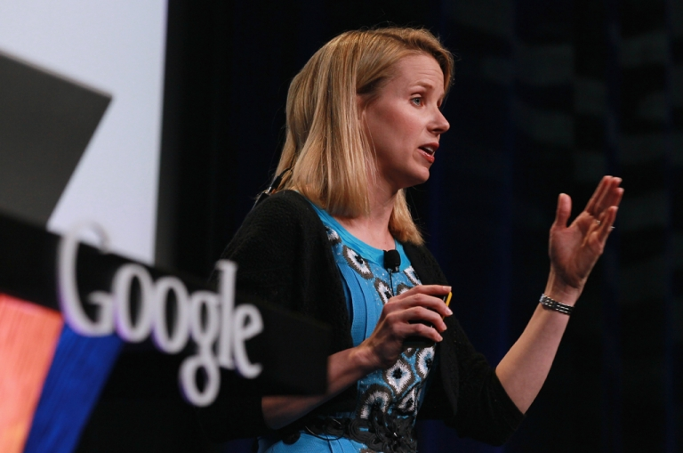 <p>SAN FRANCISCO - Google Vice President of Search Product and User Experience Marissa Mayer speaks during an announcement September 8, 2010 in San Francisco, California.</p>