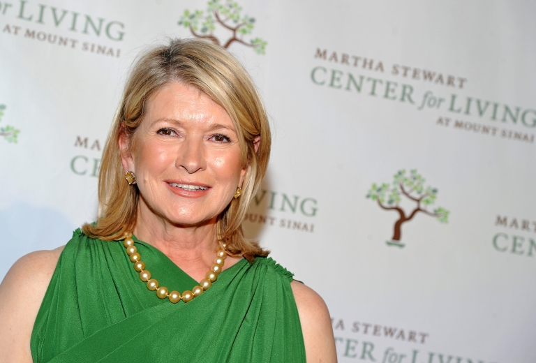 <p>Martha Stewart attends the 4th annual Martha Stewart Center for Living at Mount Sinai gala at the Martha Stewart Living Omnimedia headquarters in New York City on Nov. 16, 2011.</p>