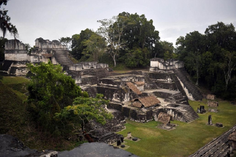 <p>Mild drought may have caused the Mayans to abandon sites like Tikal in Guatemala</p>