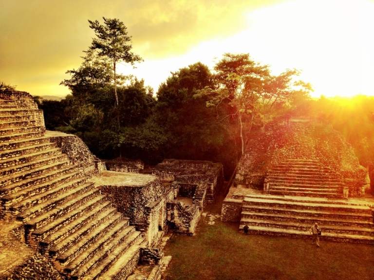 <p>Caana, or Sky Temple, at Caracol archaeological site in western Belize, is one of the largest, most impressive pyramids in the Maya world.</p>