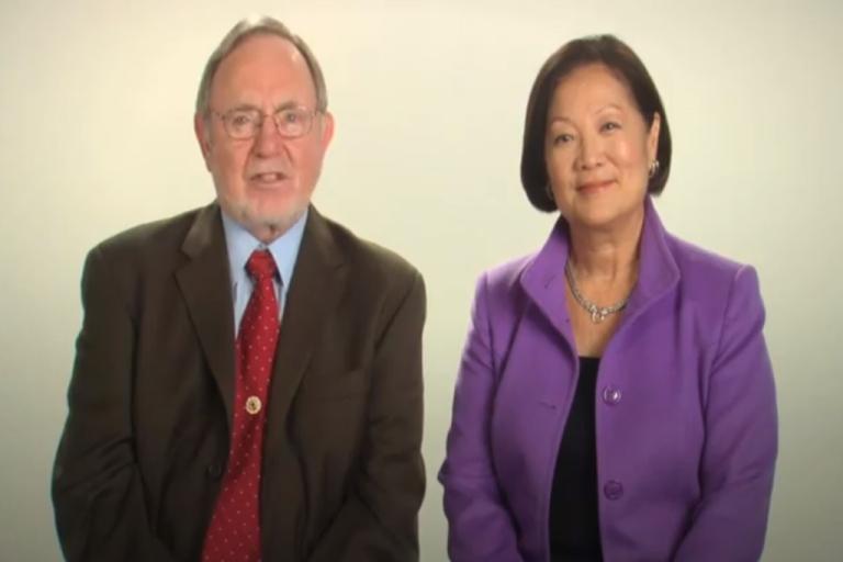 <p>Alaska Republican Rep. Don Young endorses Hawaii Democratic Rep. Mazie Hirono in a campaign ad.</p>
