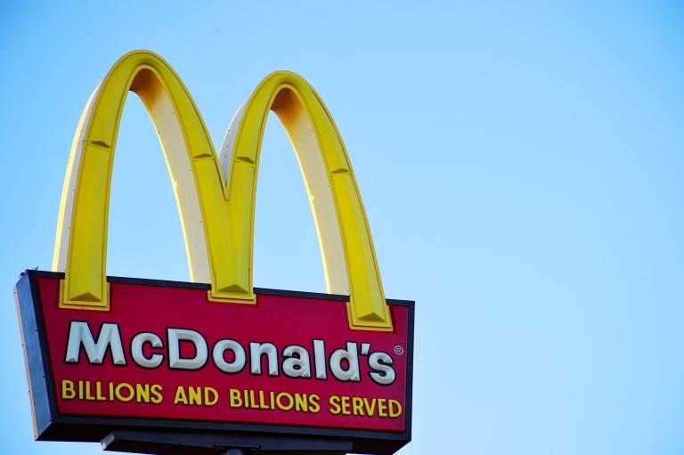 <p>A McDonald's restaurant sign in Bismarck, N.D.</p>