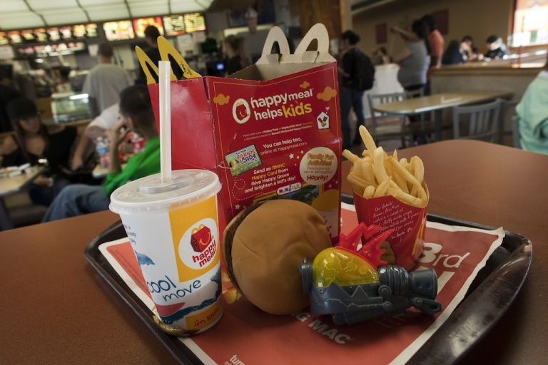 <p>McDonald's announced it is adding the calorie count of popular menu items to its drive throughs and menus nationwide starting Monday. The new U.S. healthcare law will demand larger chains post nutritional information later this year.</p>