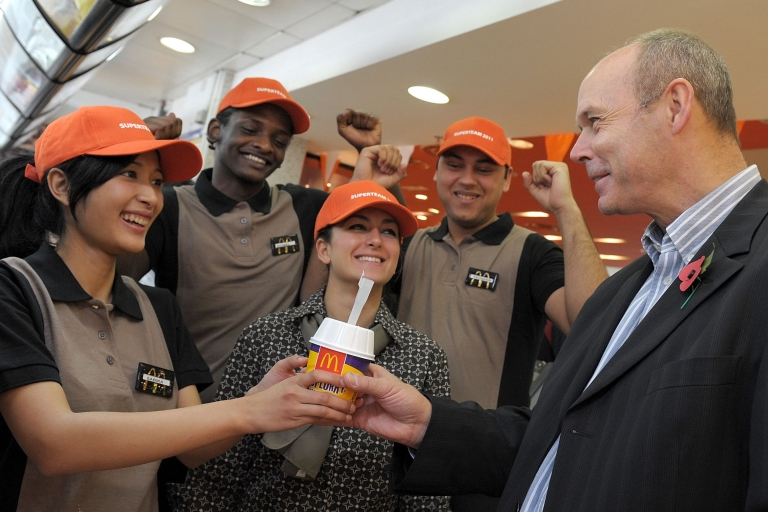<p>McDonald's select their Olympic Champion Crew to work in their Olympic Park restaurants at London 2012.</p>