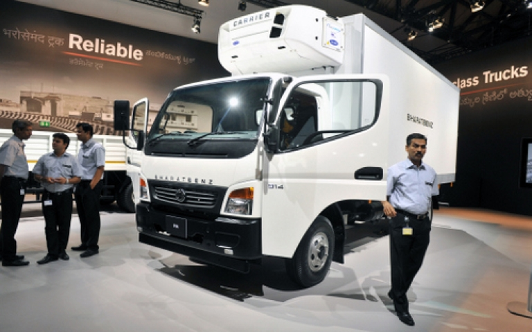 <p>Germany's Daimler-Benz is bent on tapping India's lucrative market for heavy trucks. But can it succeed against entrenched competition from Tata Motors and Ashok Leyland?</p>