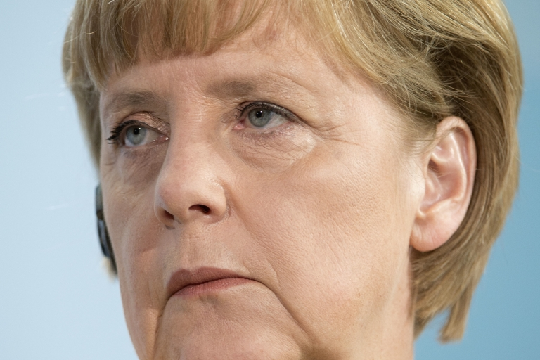 <p>Angela Merkel is underpaid as Germany's chancellor, her political rival has said.</p>