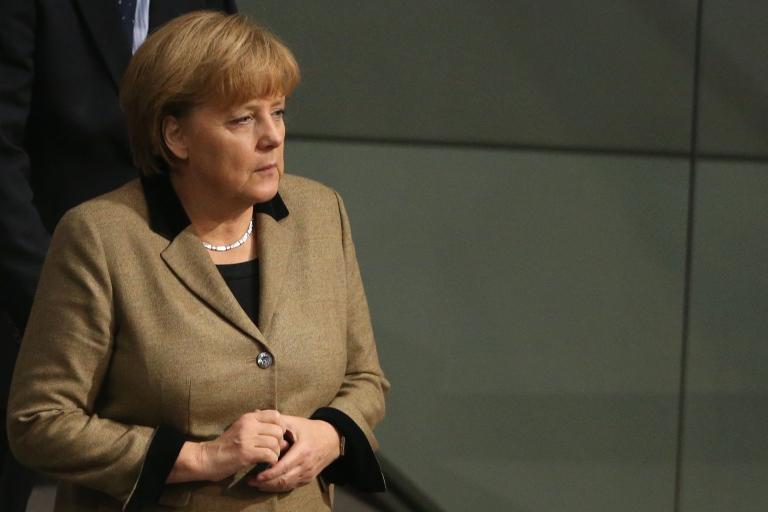 <p>Merkel recently began discussing her own religious beliefs.</p>