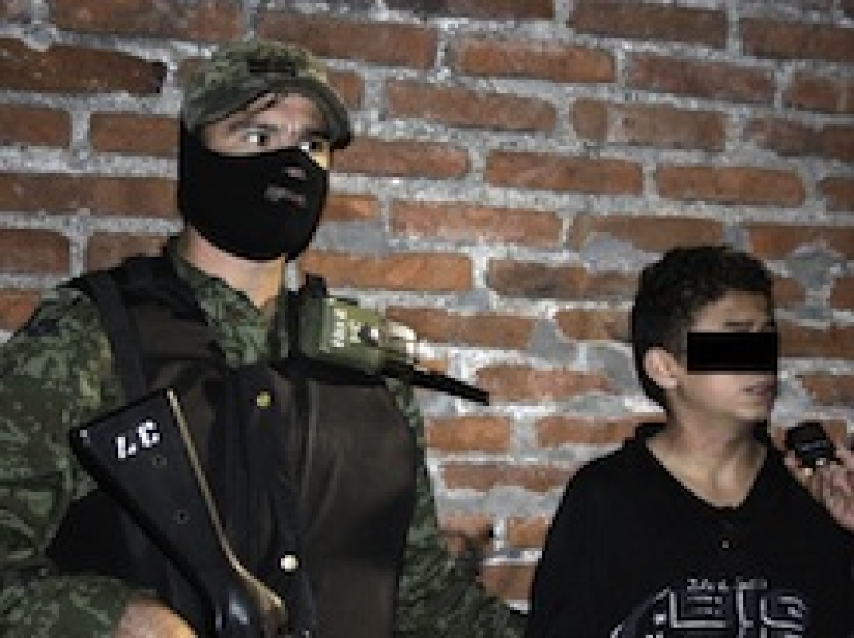 <p>Lost youth become drug cartel recruits</p>