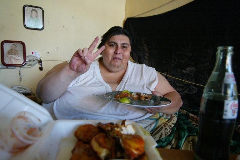 <p>Manuel Uribe entered the Guinness book of records when weighed in at 1,235 pounds in 2006. (Luis Reyes/Reuters)</p>