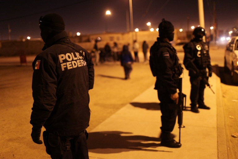 <p>Law enforcement efforts against the drug trade have not been able to stop violence, which has killed more than 55,000 people in Mexico since 2006.</p>