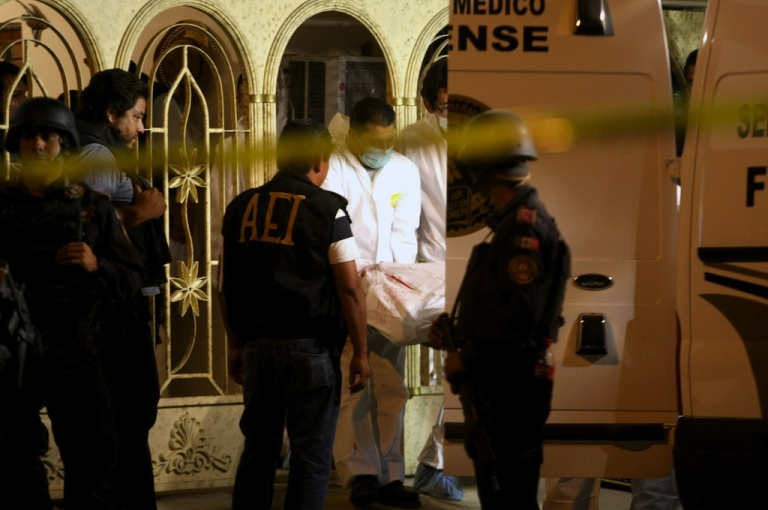 <p>More than 60,000 people have been killed in drug-related violence in Mexico in the past six years.</p>