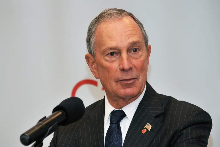 <p>Mayor Michael R. Bloomberg attends the ribbon cutting ceremony at the grand opening of the Upper West Side's Century 21 department store on September 21, 2011 in New York City.</p>