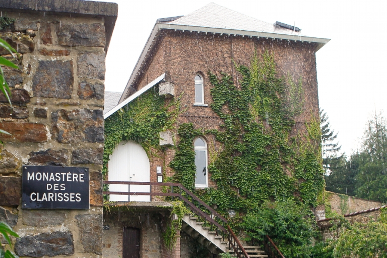 <p>The entrance to the convent of the order of nuns known as the Poor Claires in Malonne. Michelle Martin, the ex-wife and accomplice of notorious paedophile killer Marc Dutroux, will be allowed to live here after a court granted her