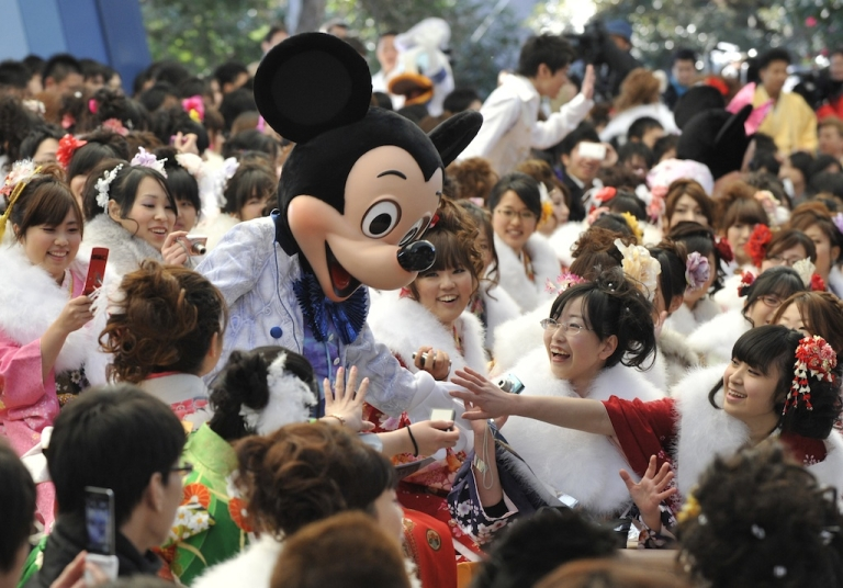 <p>Mickey Mouse made his North Korean debut this weekend.</p>