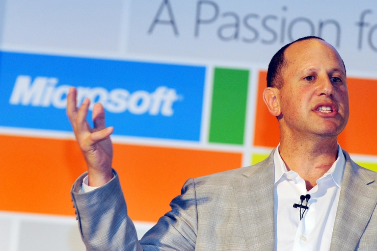 <p>Steven Guggenheimer, Microsoft Corporate Vice President of the Original Equipment Manufacturer Division on June 6, 2012. Microsoft officially agreed to buy corporate social networking site Yammer for $1.2 billion on June 25, 2012.</p>