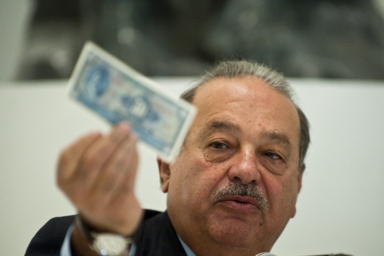<p>Mexican billionaire Carlos Slim, the biggest 'have' of them all, could see his status as the world's richest man threatened by Mexico's proposed telecommunications reforms.</p>