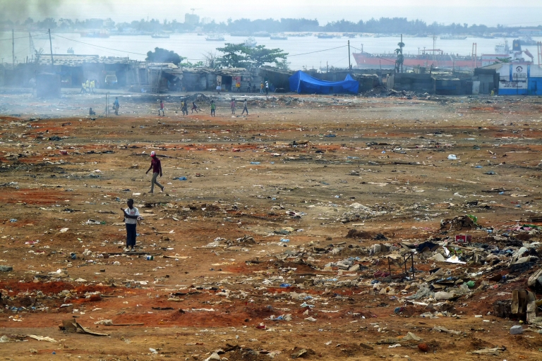 <p>The not-so-pretty face of Angola — this shantytown in Luanda was destroyed on Sept. 5 and transferred some 15 miles away as part of a vast urban plan, leaving its one million residents scrambling for survival.</p>